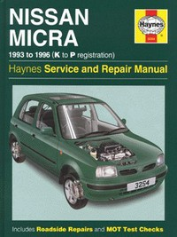 nissan micra k11 manual english